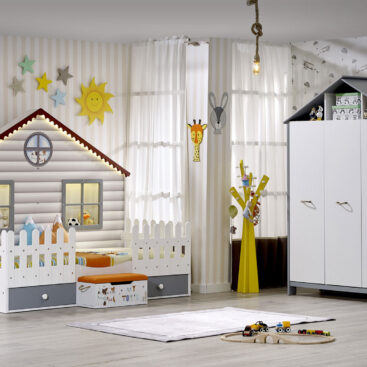 Παιδικό Δωμάτιο Little Home Gri