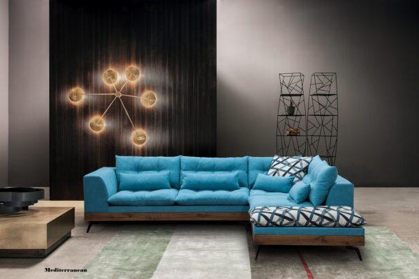 Γωνιακός καναπές Mediteranean